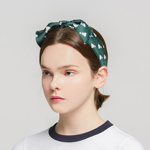 Shuttlecock Hairband_Green