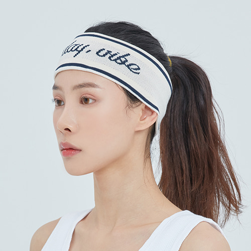 Easy Day Vibe Hair Band_Oatmeal