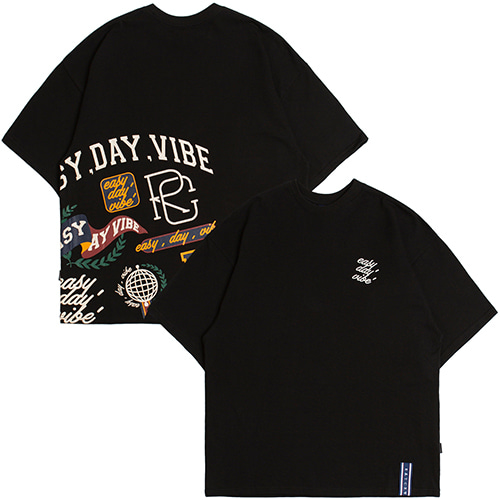 E.D.V Team T Shirt_Black