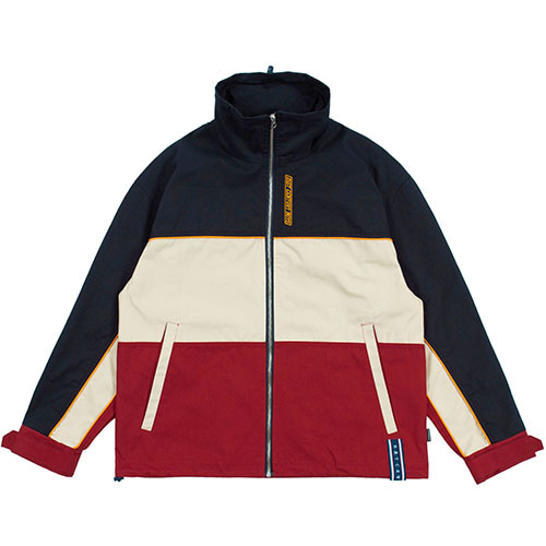 PIPING RACING JACKET_NAVY
