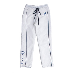Crunch Piping Pants_White