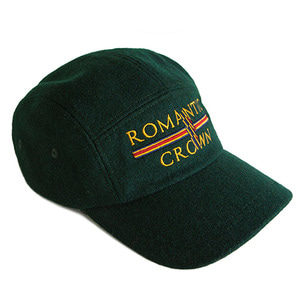 RMTC Wool Camp Cap_Green