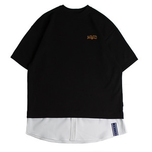 Shirt Tail T Shirts_Black