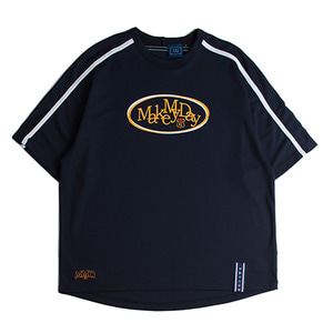 Shoulder Line Jersey_Navy