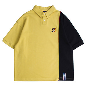 Piping Polo Shirts_Butter