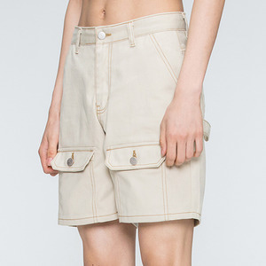Two Way Pocket Pants_Beige