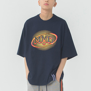 MMD Dot Logo T Shirt_Navy