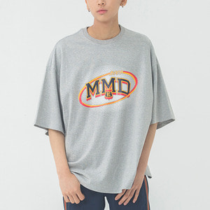 MMD Dot Logo T Shirt_Grey