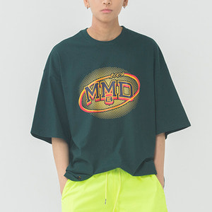MMD Dot Logo T Shirt_Green