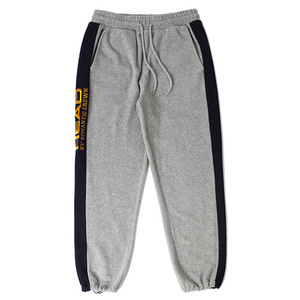 [헤드 바이 로맨틱크라운]Side Logo Fleece Track Pants_Gray