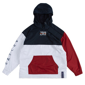 2009 Side Zip Up Anorak_White