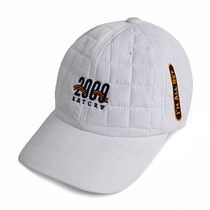 2009 Quilting Ball Cap_White