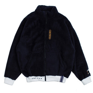 Yeti Zip Up Jacket_Navy