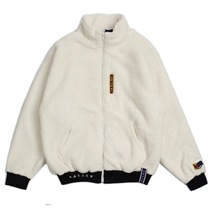 Yeti Zip Up Jacket_Oatmeal