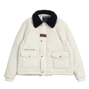 Chest Pocket Sherpa Jacket_Oatmeal