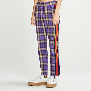 RMTCRW Check Pants_Purple