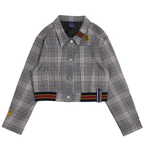 GNAC Check Jacket_Black