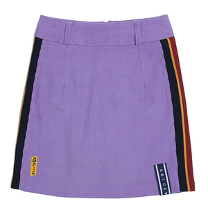GNAC Corduroy Skirt_Purple