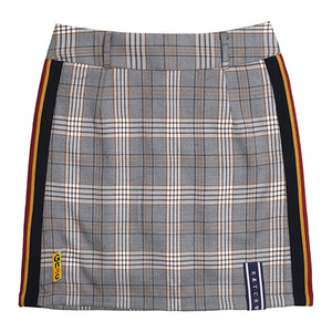 GNAC Check Skirt_Black
