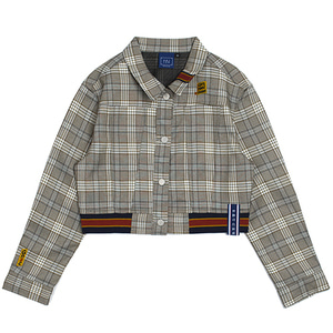 GNAC Check Jacket_Grey