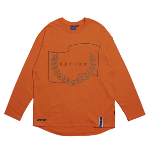 RMTCRW Long Sleeve_Orange