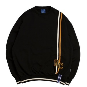 RC Double Line Sweat Shirt_Black