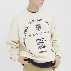 RMTCRW Studio Sweat Shirt_Oatmeal