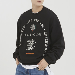 RMTCRW Studio Sweat Shirt_Black