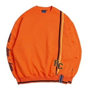 RC Double Line Sweat Shirt_Orange