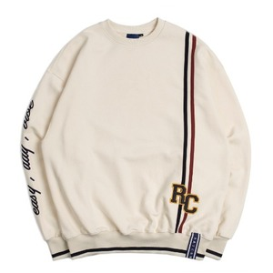 RC Double Line Sweat Shirt_Oatmeal