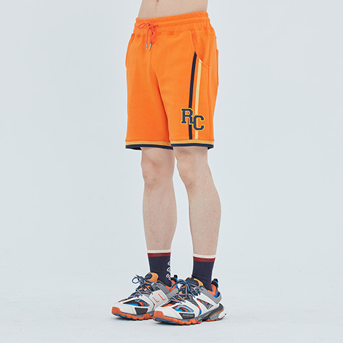 RC Double Line Half Pants_Orange