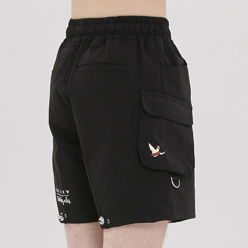 [R.C X M.G]Ceremony Angel Shorts_Black