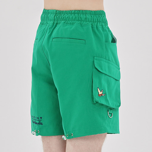 [R.C X M.G]Ceremony Angel Shorts_Green