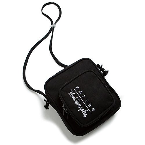 [R.C X M.G]Pocket Cross Bag_Black