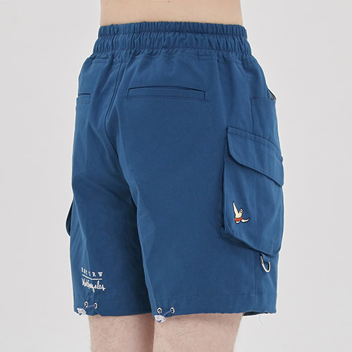 [R.C X M.G]Ceremony Angel Shorts_Blue
