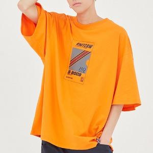 RMTC Video Case T Shirt_Orange