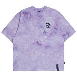 E.D.V WASHING T SHIRT_PURPLE