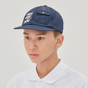 E.D.V Pocket Ball Cap_Navy