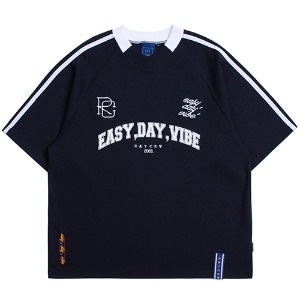E.D.V Foot Ball Jersey_Navy
