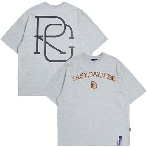 E.D.V Big Logo T Shirt_Grey