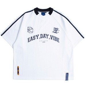 E.D.V Foot Ball Jersey_White