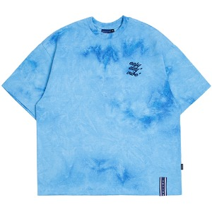 E.D.V WASHING T SHIRT_BLUE