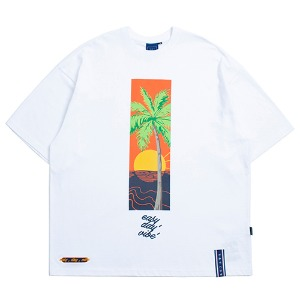 E.D.V Sunset T Shirt_White