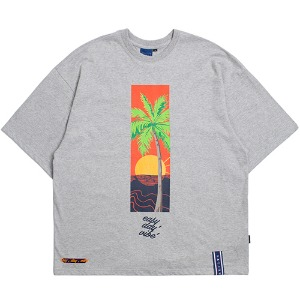 E.D.V Sunset T Shirt_Grey
