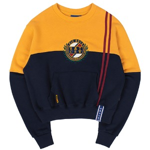 GNAC COLOR BLOCK SWEATSHIRT_YELLOW