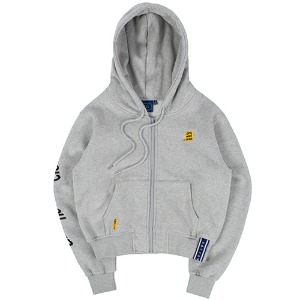 GNAC HOOD ZIP UP_GREY