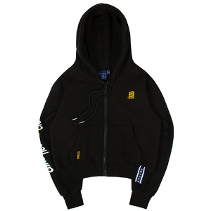 GNAC HOOD ZIP UP_BLACK