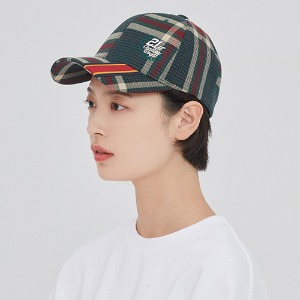 OLD CHECK BALL CAP_GREEN