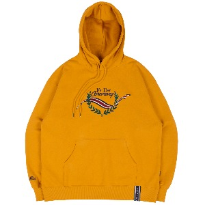 FRIDAY CEREMONY HOODIE_YELLOW