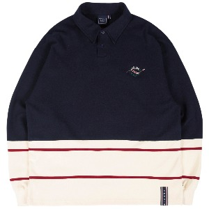 FRIDAY POLO SHIRT_NAVY